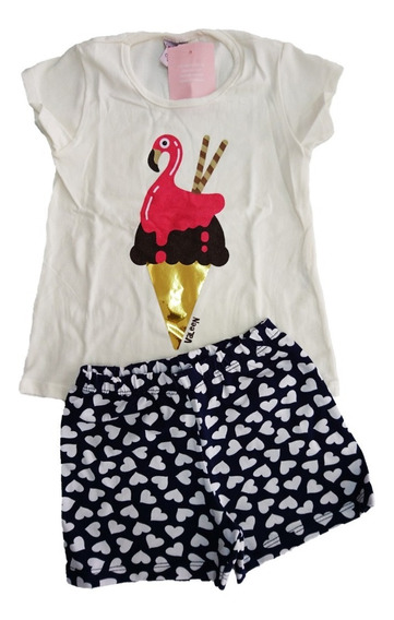 Roupa Infantil Menina Kit Com 10 Conjunto Infantil Feminino