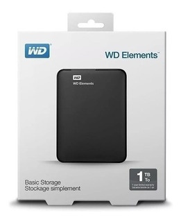 Disco Duro Externo 1tb Usb 3.0 Wd Play 4 Ps4 Notebook