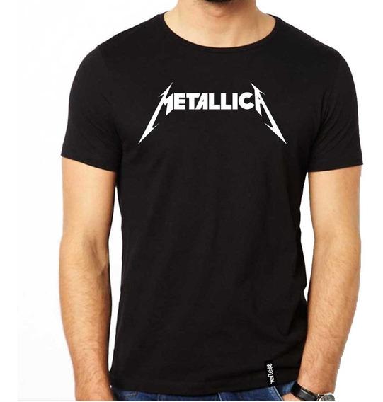 Remera Metallica 100% Algodón Calidad Premium