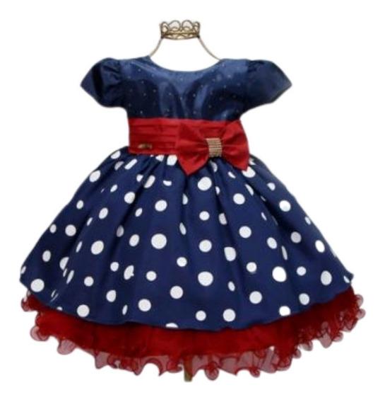 Vestido Infantil Bebe Menina Bonita 2 0u 3 Anos