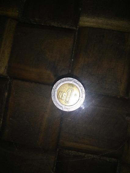 Moneda De 1 Nuevo Peso Mexicano De 1995