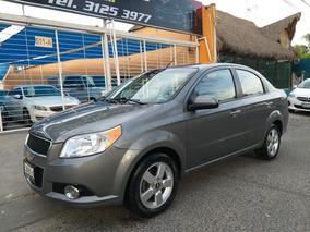 Chevrolet Aveo Ltz Factura Original,dos Dueños,impec,credito