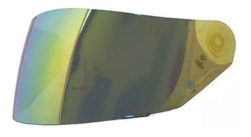 Viseira Original Para Capacete Norisk Ff302 Dourada