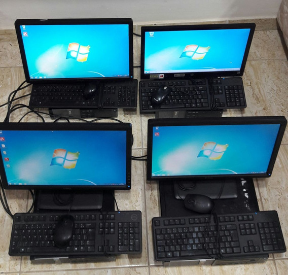 4 Computadores Dell Optiplex Intel Core I5