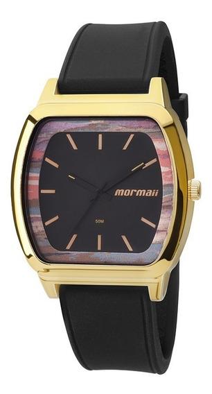 Relógio Mormaii Mo2036ac8p Mo2036ac 8p Silicone Mopc21jah