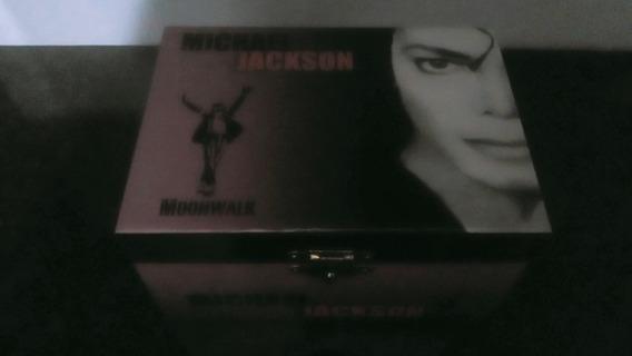 Caixinha De Música Porta Jóias Michael Jackson