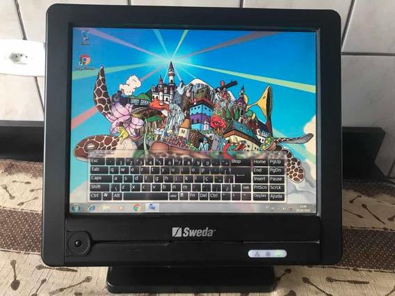 Computador Touch Screen Da Sweda Modelo Spt-2000