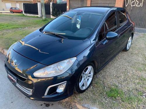 Peugeot 308 1.6 Active 2012 Con Gnc,llantas 17 Y Pantalla