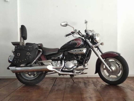 Moto Custom Kasinski Mirage 250 Vinho E Preto*chopper Harley