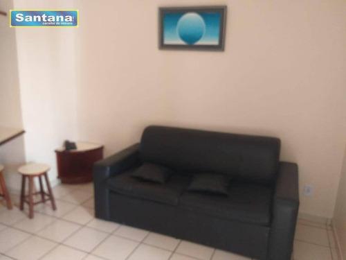 Apartamento Com 1 Dormitório À Venda, 44 M² Por R$ 106.000,00 - Do Turista - Caldas Novas/go - Ap0455