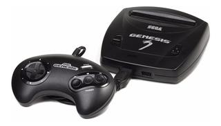 Consola Sega Genesis 3 negra