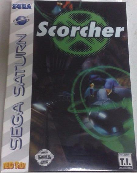 Jogo Para Sega Saturn Scorcher - Original Tec Toy