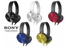 Imagen 1 de 8 de Audifono Sony Mod. Mdr-xb450 Extra Bass/manos Libres/control