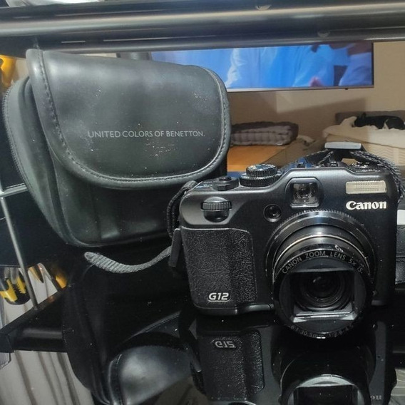 Câmera Canon G12 Powershot Semi Profissional
