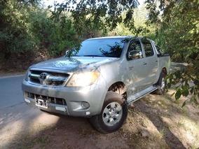 Toyota Hilux Dx 2.5 4x2 D/c 2007 Vendo O Permuto