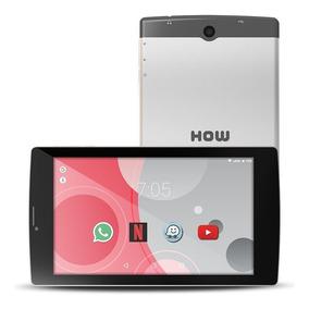 Tablet 3g Dual Chip How 8gb Wifi Gps 705g - Cinza - Original