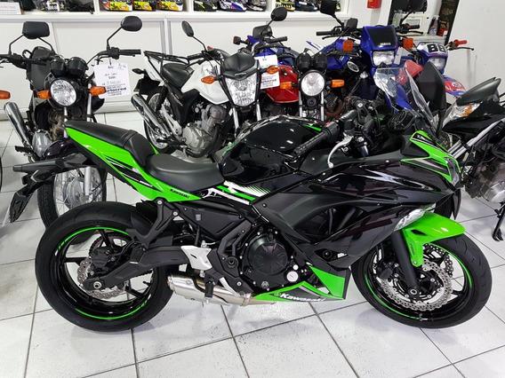 Kawasaki Ninja 650 Abs 2018, Aceito Troca, Cartão E Financio