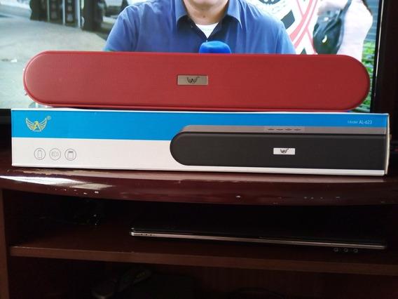 Caixa Som Bluetooth Model Al-623 Rohs Bateria 1200mah