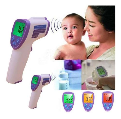 Termometro Digital Infrarrojo Sin Contacto Bebe Niños Adulto