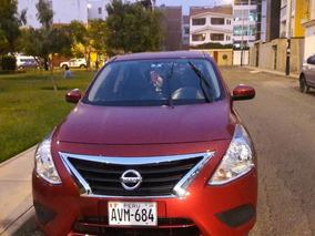 Remato Nissan Versa Impecable-como Nuevo