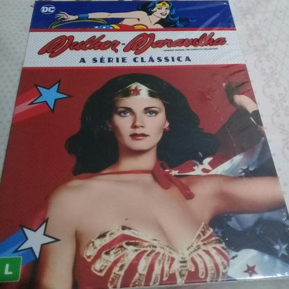 Box Dvd Mulher Maravilha A Série Clássica Original/lacrado