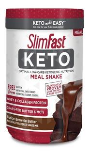 Slim Fast Keto Meal Shake Fudge Brownie Guia Semanal Gratis