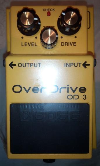 Pedal Boss Overdrive Od-3 Nuevo
