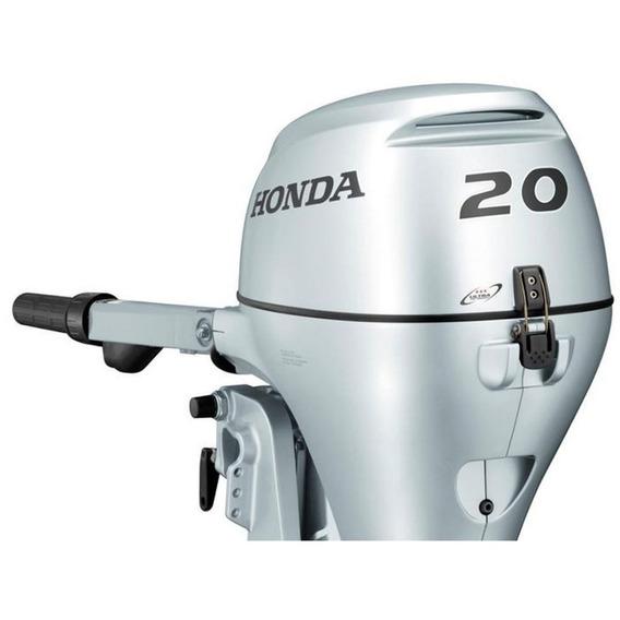 Motor Honda Fuera De Borda Bf 20hp 4t Pata Corta