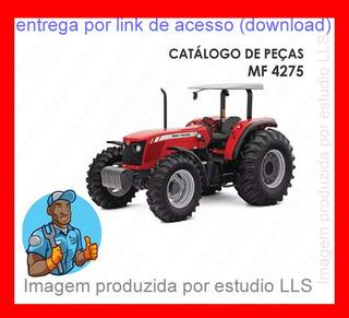 Catálogo Peças Trator Massey Ferguson 4275