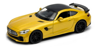 Welly 1:34 Mercedes Benz Amg Gtr Amarillo 43747cw E. Full