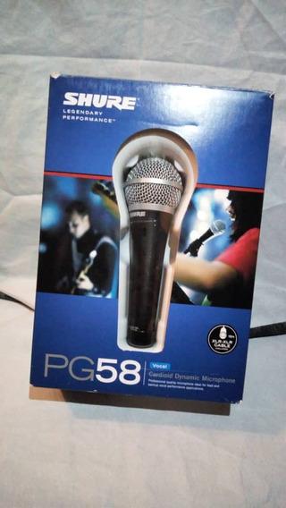 Microfono Shure Pg-58