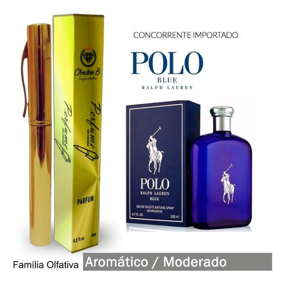 Perfume Nord Bleu - Família Olfativa Polo Blue