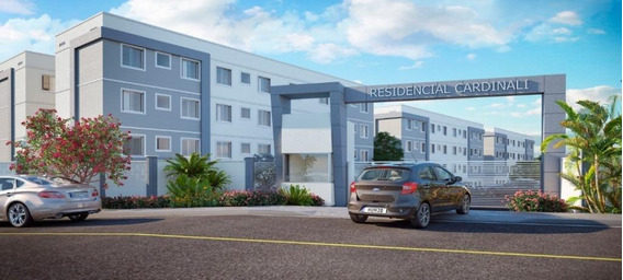 Apartamento Em Campina Da Barra, Araucária/pr De 43m² 2 Quartos À Venda Por R$ 150.900,00 - Ap587168
