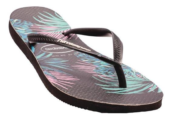 Ojotas Havaianas Slim Tropical Floral-4139406-4137- Open Spo