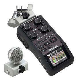 Gravador Zoom H6 Com Case Acessórios Na Caixa Original + 8gb