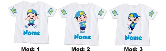 Camiseta Luccas Neto Com Nome