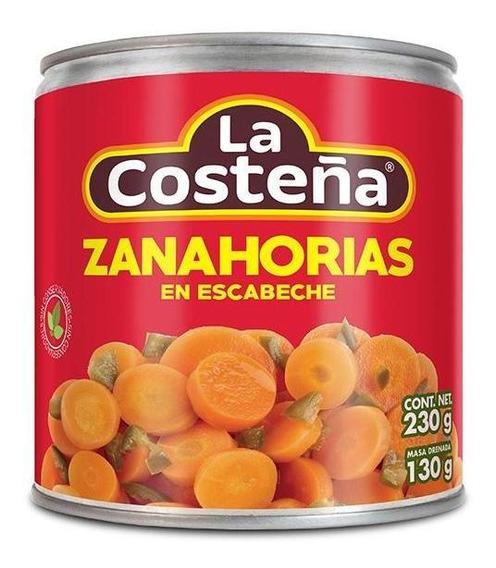 Zanahorias En Escabeche - Caja Con 24 Piezas De 230 G