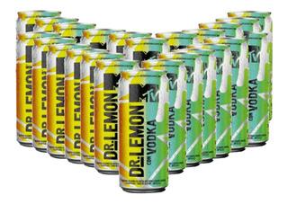 Dr Lemon Vodka Mtv Lata Edicion Caja X24 Pack 01almacen