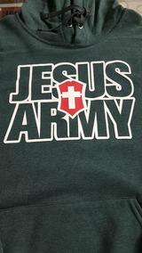 Sudadera Cristiana Jesus Army