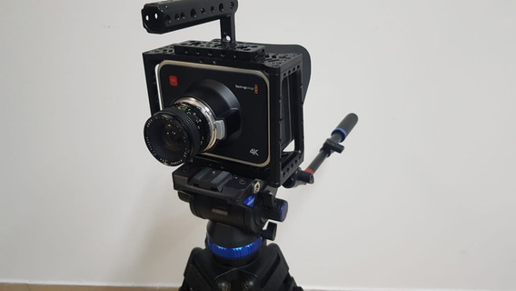 Camara Cine Blackmagic 4k+trip Benro+bat Switronix V-mount