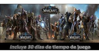 Battle For Azeroth + Tiempo De Juego, World Of Warcraft, Wow