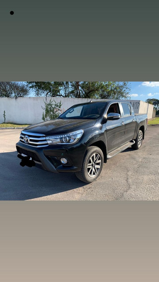 Toyota Hilux 2017 Srx Preta Completa