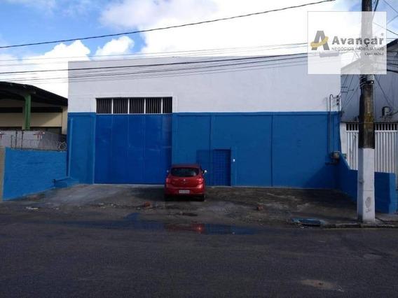 Galpão Para Alugar, 675 M² Por R$ 9.000,00/mês - Cidade Universitária - Recife/pe - Ga0007