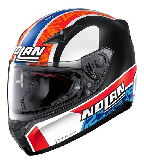 Casco Nolan Integral N60-5 Gemini 60 Rep Alex Rings