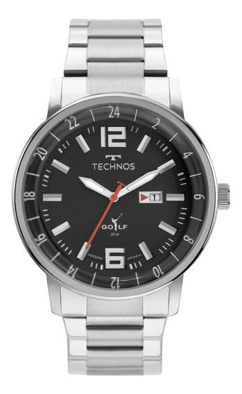 Relógio Technos Masculino Golf Prata 2115mwb/1p