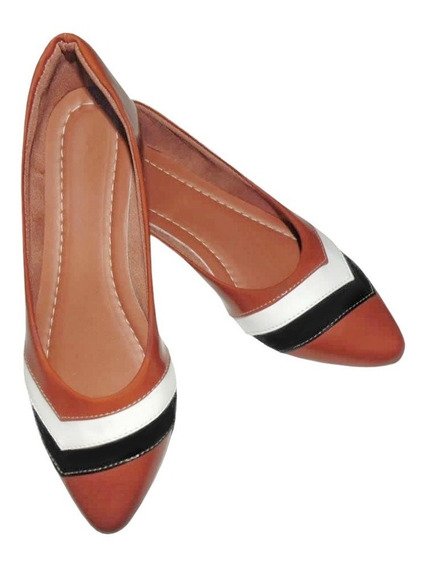 Sapato Sapatilha Rasteirinha Moda Feminina Bico Fino Verão