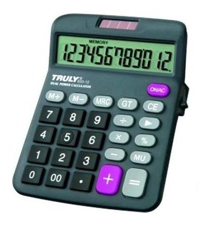 Calculadora 833-12 Truly 1007973