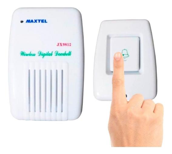 Campainha Sem Fio Led Wireless Alcance De 80m Envio Expresso