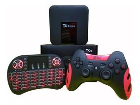 Tanix Tx3 4k-2gb/16gb + Teclado/joystick (1 Ano De Garantia)