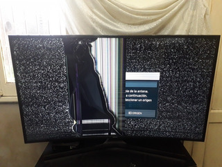 Tv Samsung Smart Curvo Uhd 49 Pulgadas Pantalla Con Golpe